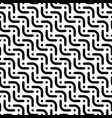 herringbone monochrome seamless pattern in flat vector image vector image