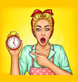 lack time on housework concept vector image vector image