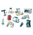 power tools for kitchen and home vector image