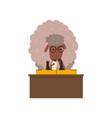 sheep playing chess funny sportive wild animal vector image vector image