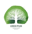 Tree logo Nature ecology icon Environment vector image vector image