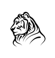 bengal tiger vector image