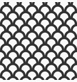 fish-scales seamless pattern vector image