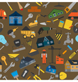 House repair and construction background vector image vector image