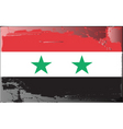syria national flag vector image vector image