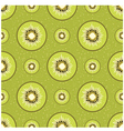 Background with kiwi vector image vector image