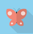 butterfly icon set of great flat icons design vector image