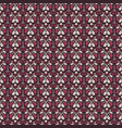 damask vintage seamless pattern background vector image