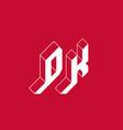 dk - international 2-letter code or national vector image