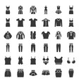 female clothes bags and accessories set 1 solid vector image vector image