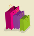 sale bags to special price in the store vector image vector image