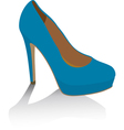 shoe vector image vector image