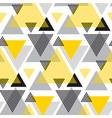 yellow and black creative repeatable motif vector image vector image