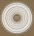 cute lacy doily frames big set vector image vector image