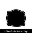 hand drawn handmade craft knitting and art vector image