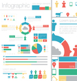 Info Graphic Data Design Elements vector image
