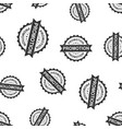 promotion seal stamp seamless pattern background vector image vector image