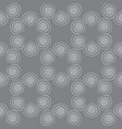 seamless spiral pattern gray color vector image vector image