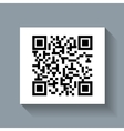 system qr code id product vector image