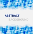 Abstract blue rounded rectangle overlapping vector image vector image