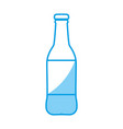 beer bottle icon vector image vector image