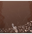 Grunge Musical Background Backdrop Image vector image