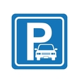 parking zone design vector image