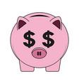 Piggy savings symbol
