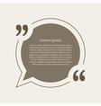 Quotation mark speech bubble