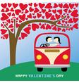 Romantic card45 vector image vector image