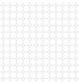 subtle white and light gray seamless grid pattern vector image
