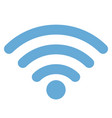 wifi icon for radio waves web and mobile vector image