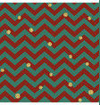 Christmas Seamless pattern Red Gold and Green vector image