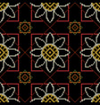 embroidery traditional pattern vector image vector image