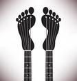 Footprint Headstocks vector image vector image