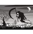 halloween Angel of Death vector image vector image
