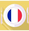 kitchen of France vector image