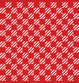 square scottish style pattern vector image