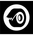 tape icon vector image