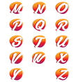 Creative alphabet letters Design vector image