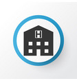 hospital icon symbol premium quality isolated vector image vector image