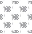 New Plate seamless pattern vector image vector image