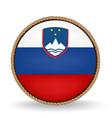 Slovenia Seal vector image vector image