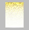 abstract diagonal square mosaic pattern page vector image vector image