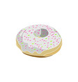 donut cream vector image vector image
