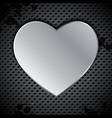 Industrial valentines background vector image