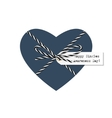 Singles awareness day greeting card vector image vector image