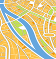 Abstract city map vector | Price: 1 Credit (USD $1)