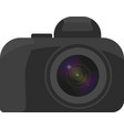 image of the camera with a minimum of vector image vector image