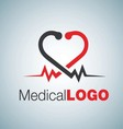 medical logo 10 vector image vector image